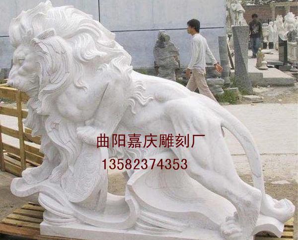 狮子雕刻_石雕狮子(图片)